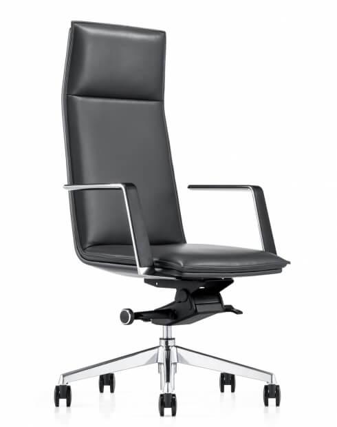 Pilot Genuine Italian Leather Executive Chair