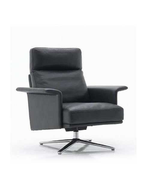 Credo Genuine Italian Leather Lounge Chair