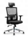 Cover - Newman Black Ergonomic Executive Office Chair