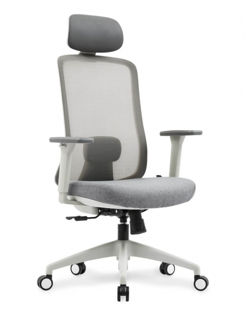GEO Silver Grey Ergonomic Executive Chair