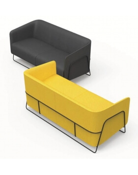 Enova Two Seater Modern Sofa