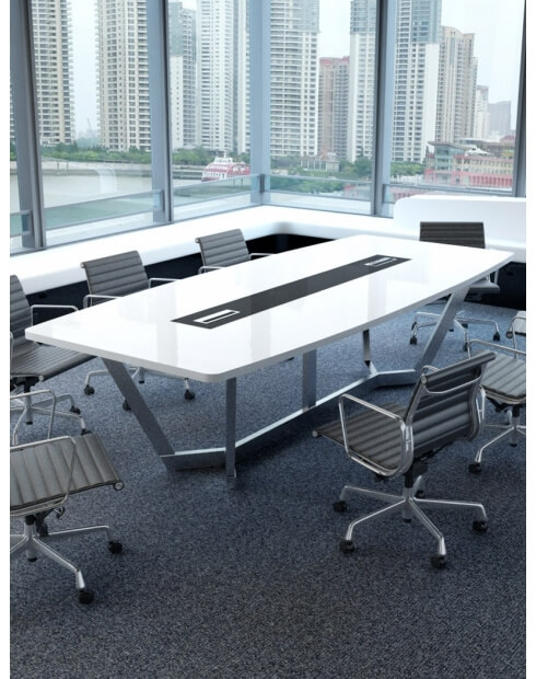 Arch Steel Base Modern Meeting Table