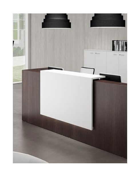 Venido Wooden Contemporary Reception Desk