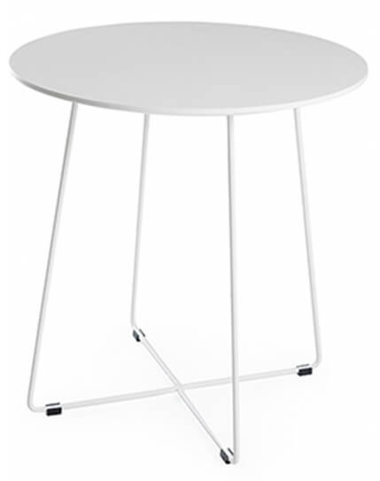Vira Minimalist Round Dining Table