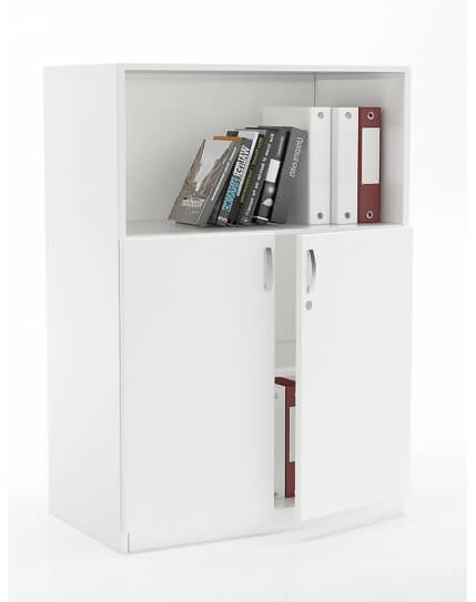 Vetrina Low Height + Open Bookcase Shelf