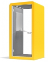 Yellow Silen Space 1 Acoustic Phone Booth