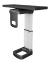 Mini Under-Desk CPU Holder with 360 Degree Swivel
