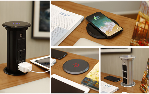 Automatic pop up socket