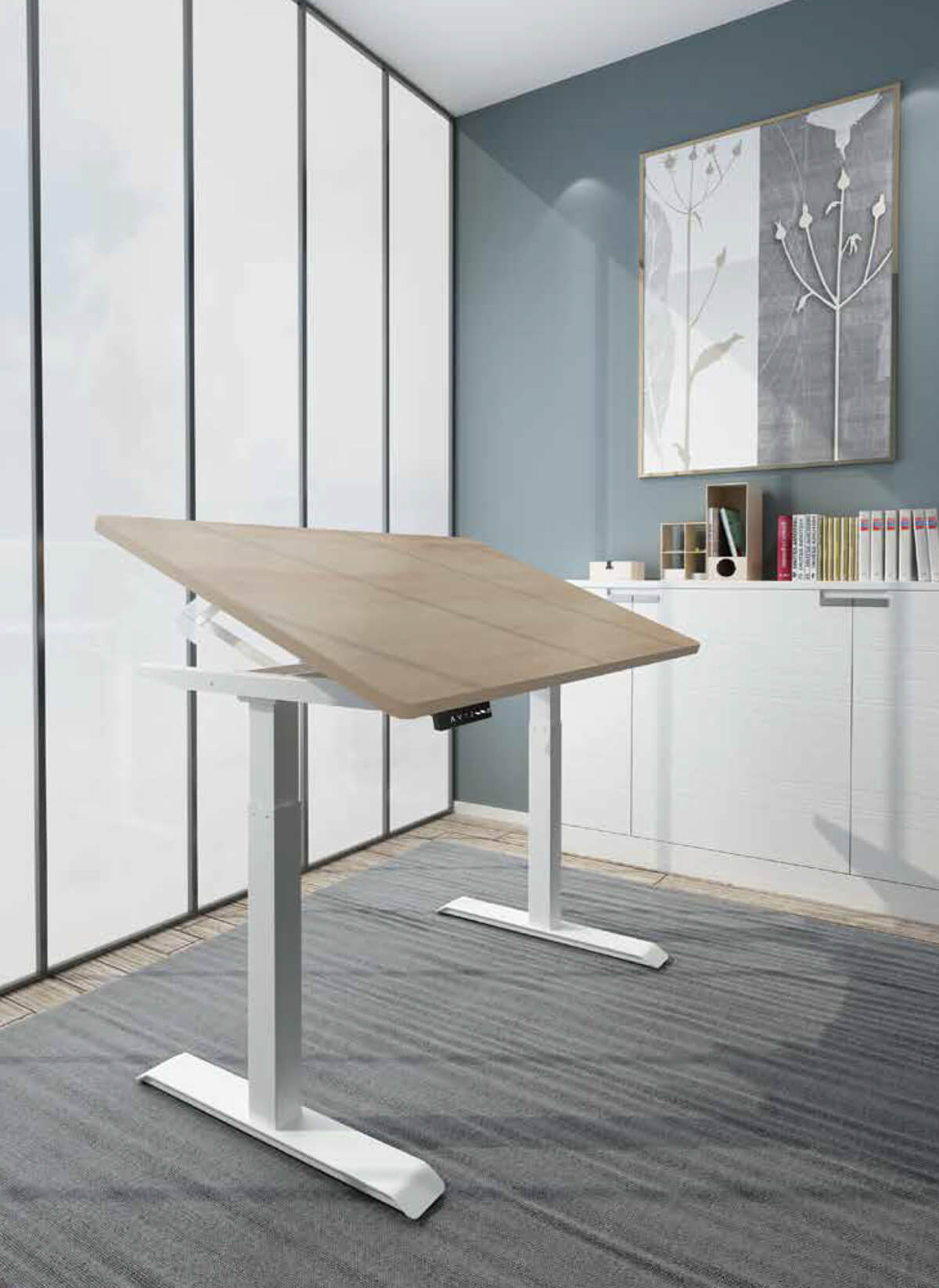 Max Tilt Desk Workspace