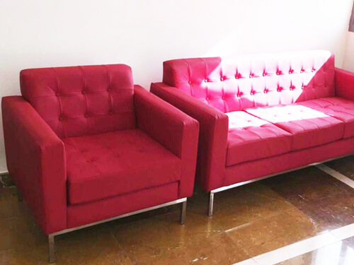 DNA Sofa Red