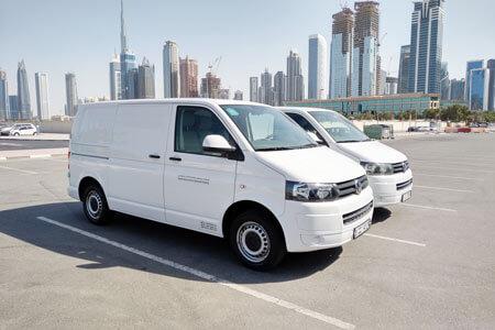 Delivery Van Workspace.ae